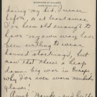 1918-09-26 Daphne Reynolds to Conger Reynolds Page 4