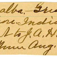 Clinton Mellen Jones, egg card # 207