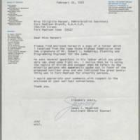 1972-02-22 James I. Meyerson to Miss Virginia Harper