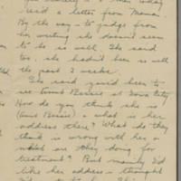 1945-05-21 Freda Caldwell to Laura Frances Davis Page 1