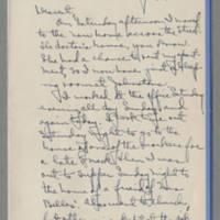 1942-02-16 Laura Davis to Lloyd Davis Page 1