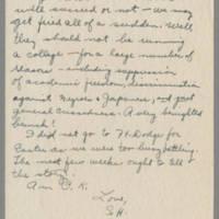 1945-04-04 Susie Hutchison to Laura Frances Davis Page 2