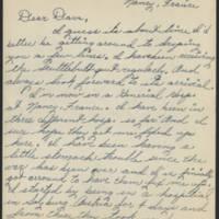 1945-06-29 Pfc. Edward Prebyl, Jr. to Dave Elder Page 1