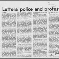 "1971-05-13 Daily Iowa Letters: """"Police and Protests"""" Page 2"
