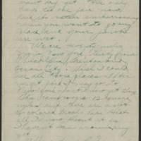 1918-08-31 Thomas Messenger to Mrs. N.H. Messenger Page 2