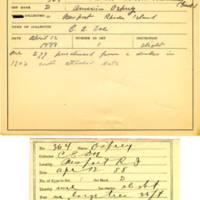 Thomas Wilmer Dewing, egg card # 243