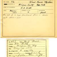 Thomas Wilmer Dewing, egg card # 359