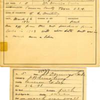 Thomas Wilmer Dewing, egg card # 006