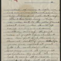 1918-03-21 Thomas Messenger to Vera Wade Page 3