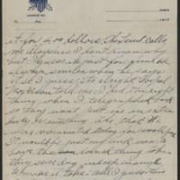 1917-09-06 Harvey Wertz to Miss Dorothy Wertz Page 2