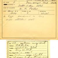 Thomas Wilmer Dewing, egg card # 100