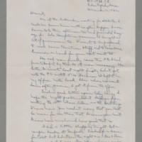 1942-12-12 Laura Davis to Lloyd Davis Page 1