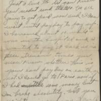 1918-08-21 Harvey Wertz to Mr. L.A. Wertz Page 1
