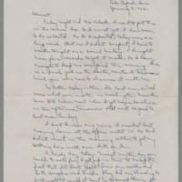 1942-01-08 Laura Davis to Lloyd Davis Page 1