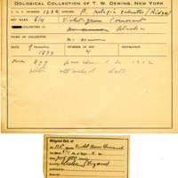 Thomas Wilmer Dewing, egg card # 081