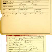 Thomas Wilmer Dewing, egg card # 805u
