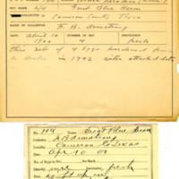 Thomas Wilmer Dewing, egg card # 140