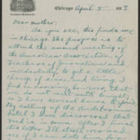 1917-04-05 Conger Reynolds to Emily Reynolds Page 1