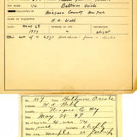 Thomas Wilmer Dewing, egg card # 713u