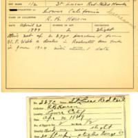 Thomas Wilmer Dewing, egg card # 223