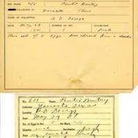 Thomas Wilmer Dewing, egg card # 746u
