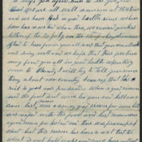 Isaac W. Wolfe letters, 1869-1871