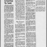 "1971-05-08 Iowa City Press-Citizen Article: """"Disorders As Seen From The 'Inside'"""""