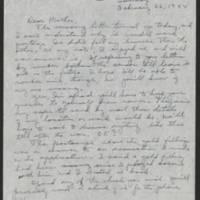 1944-02-16 Helen Fox to Bess Peebles Fox Page 1