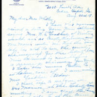 1918-08-23 Rita J. Taylor to Mrs. Whitley