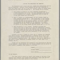 1970-05-14 Options for completeing the semester