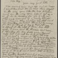 1917-04-21 John Reynolds to Conger Reynolds Page 1