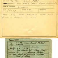Thomas Wilmer Dewing, egg card # 063