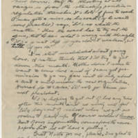 1918-06-08 Robert M. Browning To Dr. Mabel C. Williams Page 2
