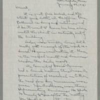 1943-01-29 Laura Davis to Lloyd Davis Page 1