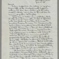 1945-06-10 Laura Davis to Lloyd Davis Page 1