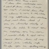 1943-08-25 Lloyd Davis to Laura Davis Page 1