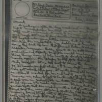 1943-06-01 Laura Davis to Lloyd Davis Page 1