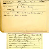 Thomas Wilmer Dewing, egg card # 424