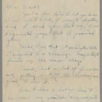 1945-10-31 Pfc. Robert J. Nicola to Dave Elder Page 1