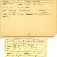 Thomas Wilmer Dewing, egg card # 742u