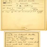 Thomas Wilmer Dewing, egg card # 519