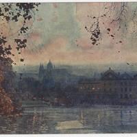 1922-01-31 Postcard: Robert M. Browning to LT. C.W. Hanna