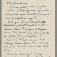 1945-04-04 Susie Hutchison to Laura Frances Davis Page 1