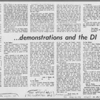 "1971-05-13 Daily Iowa Letters: """"Police and Protests"""" Page 5"