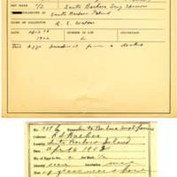 Thomas Wilmer Dewing, egg card # 465