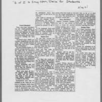 """1970-05-11 Des Moines Register Article: """"""""U of I To Stay Open, 'Choice' For Students"""""""" Page 2"""