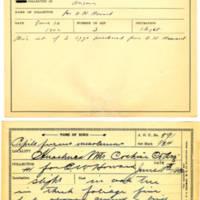 Thomas Wilmer Dewing, egg card # 475