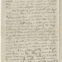 1918-10-21 Bob Browning to Karl Hoffman Page 2