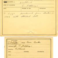 Thomas Wilmer Dewing, egg card # 159