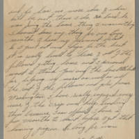 "1946-01-11 Pfc. Milo F. """"Franny"""" Ralston to Dave Elder Page 2"